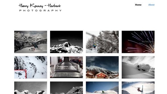 portfolio  photography websites and themes